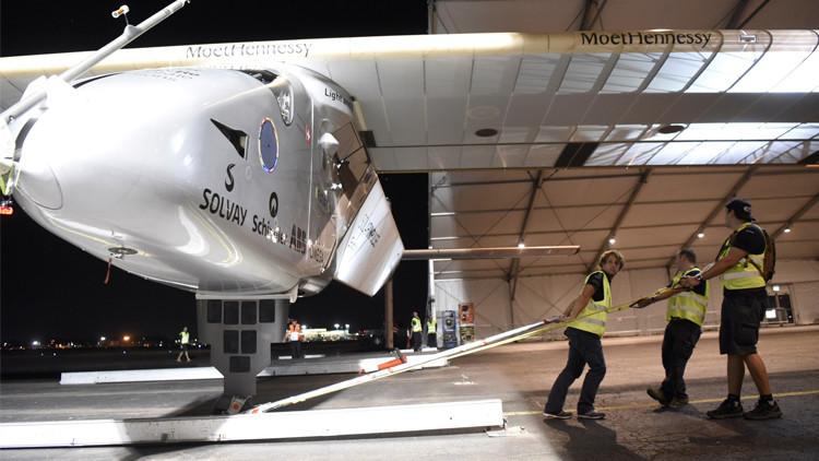 طائرة Solar Impulse 2 تهبط بولاية بنسلفانيا