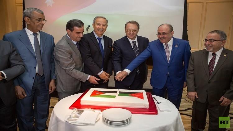 السفارة الأردنية في موسكو تحيي الذكرى  الـ70 لاستقلال المملكة