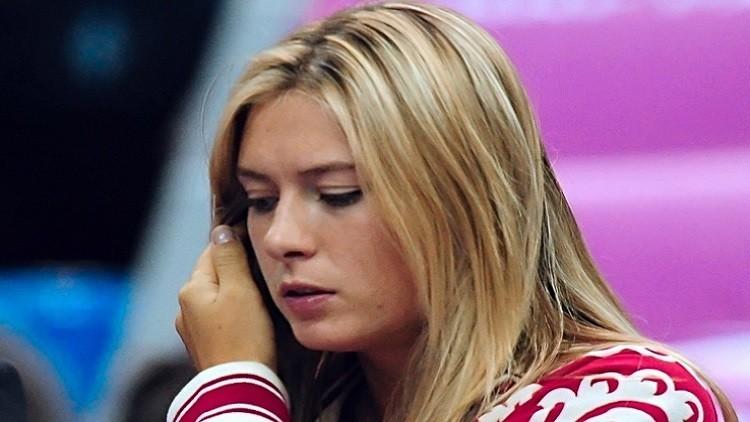 الحسناء شارابوفا ضمن المنتخب الروسي في الأولمبياد