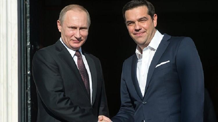 موسكو وأثينا توقعان اتفاقية توريد النفط إلى اليونان