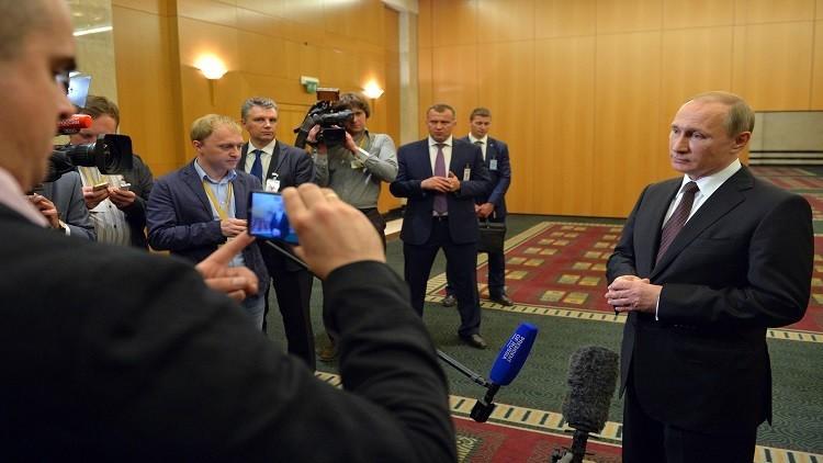 بوتين: حلّ قضية الأكراد شأن حكومات بلدانهم