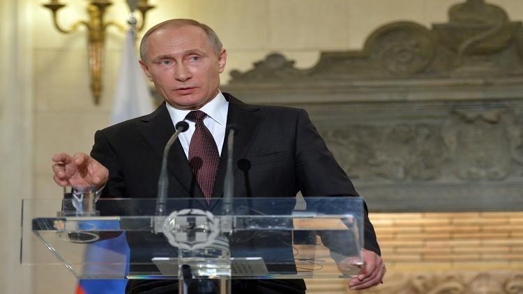بوتين: ملف القرم مغلق إلى الأبد