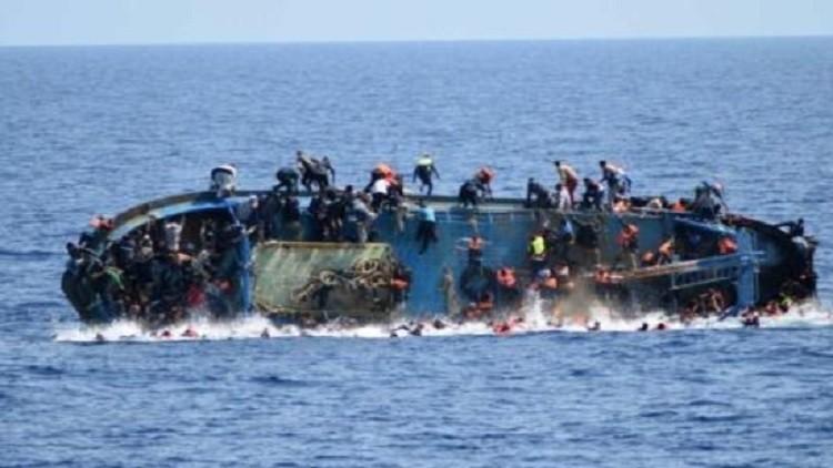 3 حوادث غرق في المتوسط تودي بحياة 70 مهاجرا