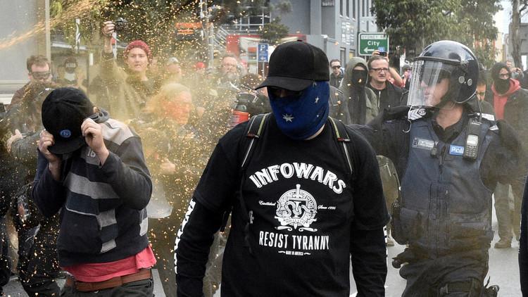 اعتقال 7 أشخاص إثر اشتباكات في أستراليا
