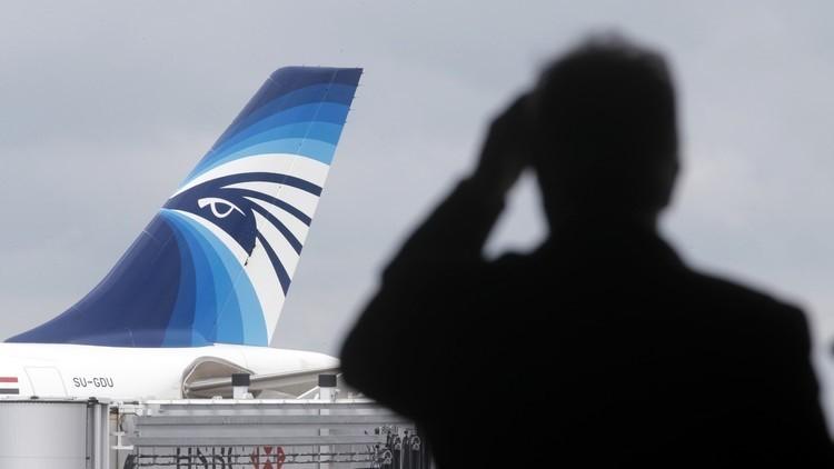 الأقمار الاصطناعية التقطت إشارة استغاثة من الطائرة المصرية