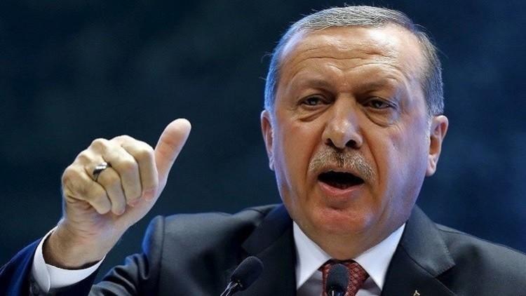 أردوغان يدين دعم واشنطن للأكراد