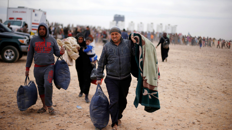 نزوح 6 آلاف من أبناء ريف حلب الشمالي بسبب