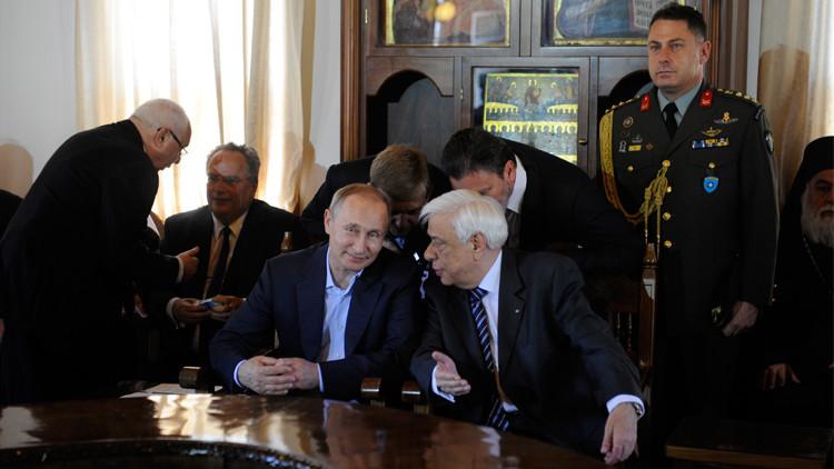 بوتين يبعث من اليونان بـ