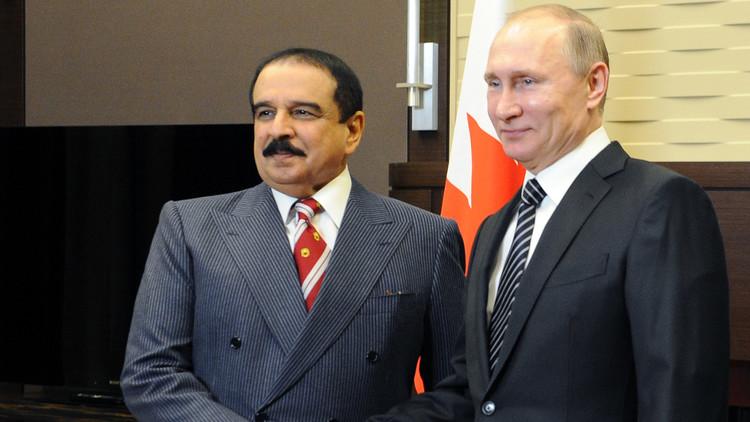 اتفاقية تعاون عسكري بين روسيا والبحرين