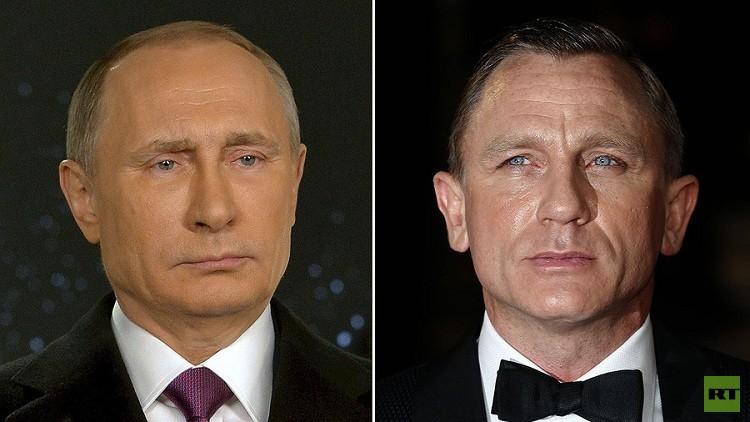 بوتين يتصدر قائمة المرشحين لدور جيمس بوند؟