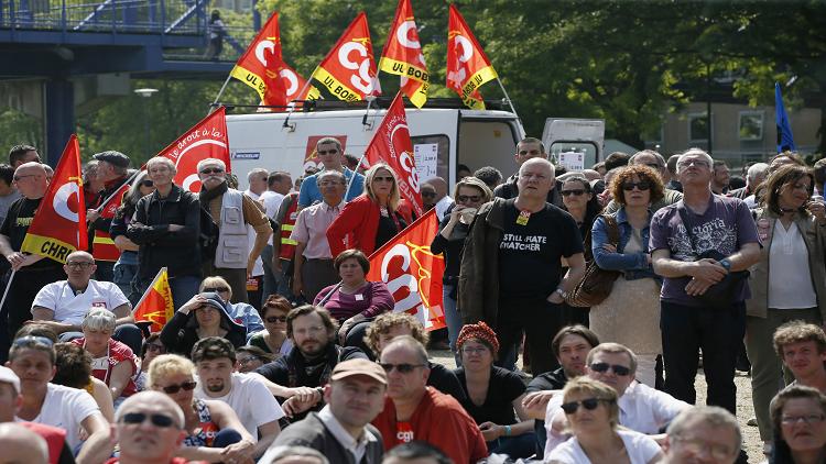 إضراب يشل وسائل النقل الفرنسية قبيل كأس أوروبا