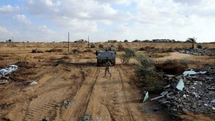 مقتل 6 من قوات الأمن المصرية بتفجير في سيناء
