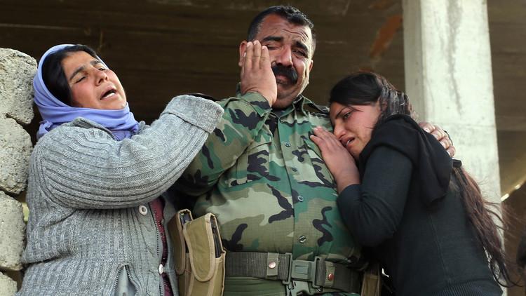 القوات العراقية تحرر إيزيديتين في الفلوجة
