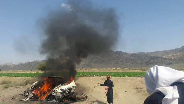 سيارة كانت تقل أختر منصور استهدفتها طائرة أمريكية من دون طيار