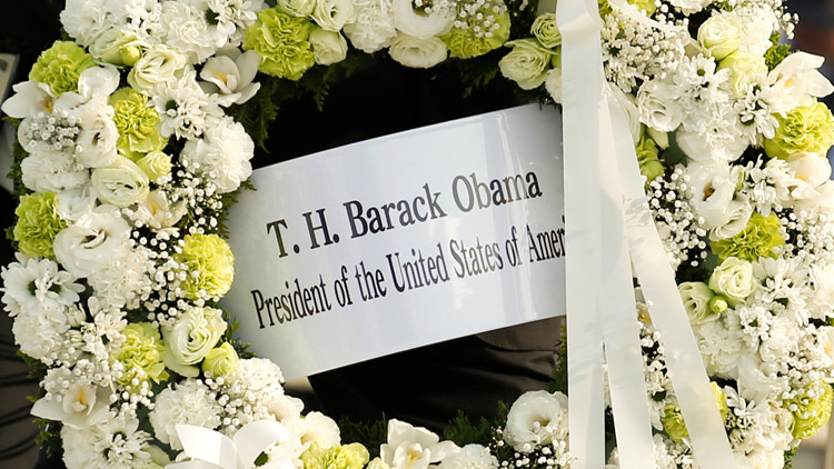 أوباما في هيروشيما للتأمل في قوة رهيبة قد تدمر البشرية