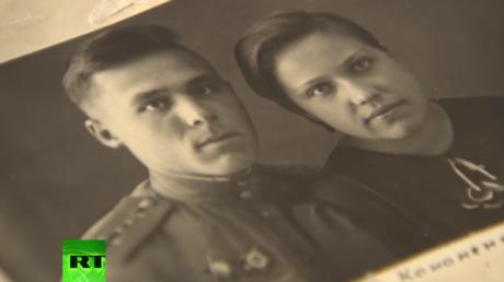 """قصة حب أثناء الحرب: """"أقبلكِ قبلة حارة"""""""