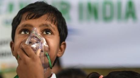 تلوث الهواء في الهند يتسبب بوفاة نصف مليون شخص سنويا