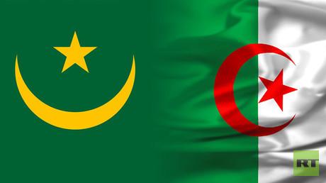 علم الجزائر وموريتانيا