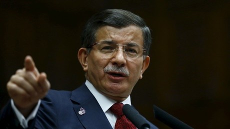 رئيس الوزراء التركي السابق أحمد داود أوغلو