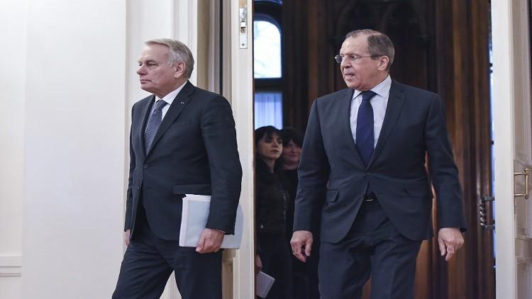 لافروف وإيرولت يبحثان التسوية الشرق أوسطية