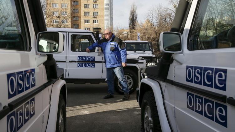 موسكو تنفي مزاعم أوكرانيا بنشر بعثة شرطة في دونباس