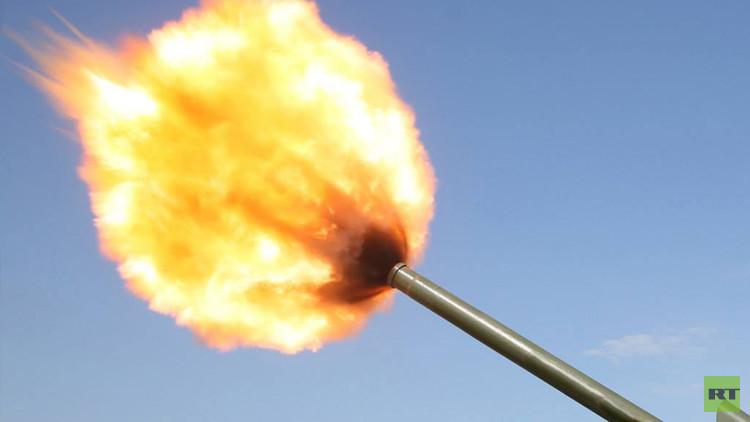 روسيا بصدد تصميم مدفع كهرومغناطسي مثيل لـ ريلغان (فيديو)