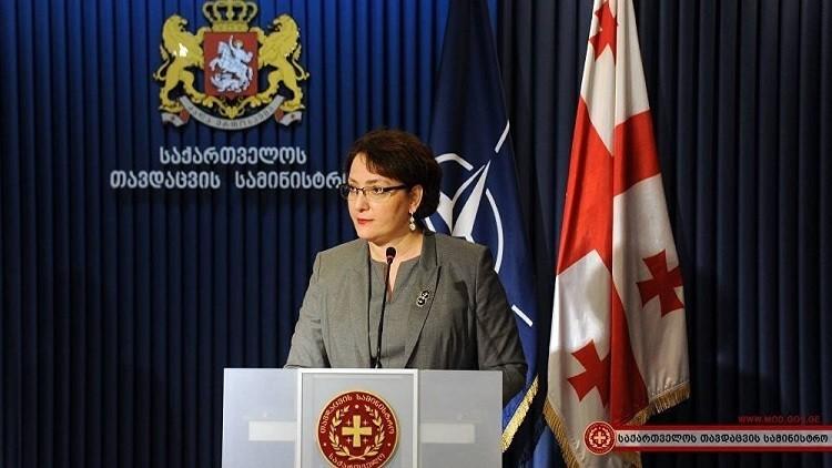 وزيرة دفاع جورجيا تستقوي بالناتو على روسيا