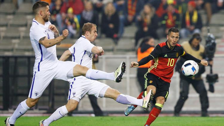 بلجيكا تفلت من الهزيمة أمام فنلندا (فيديو)