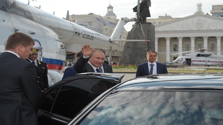 بوتين يستخدم مروحية للتنقل داخل موسكو