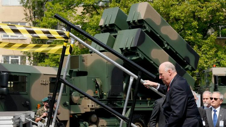 بولندا تطلق صواريخ لأول مرة منذ فترة طويلة