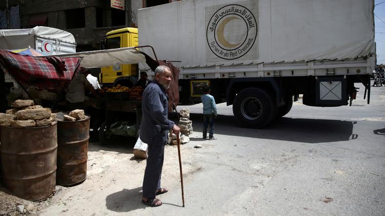 الأمم المتحدة: إلقاء مساعدات جوا لمناطق سورية محاصرة ليس وشيكا