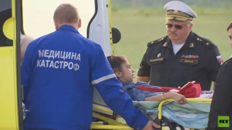 موسكو.. وصول طفلة سورية التماسا للعلاج