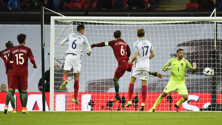 إنجلترا تفوز على البرتغال في غياب رونالدو .. فيديو