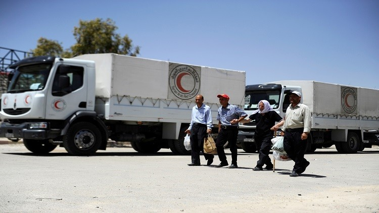 الحكومة السورية توافق على إيصال مساعدات إنسانية إلى 12 منطقة محاصرة