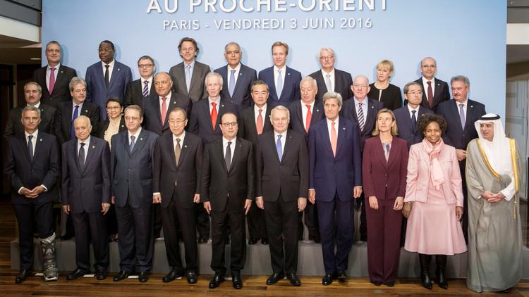 مؤتمر باريس: سياسة إسرائيل الاستيطانية تقوض تسوية الصراع