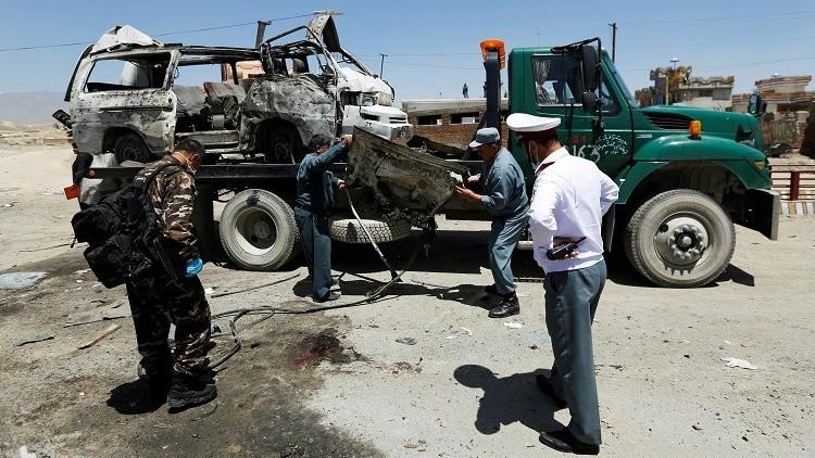 مقتل شرطيين بانفجار قنبلة شرق أفغانستان