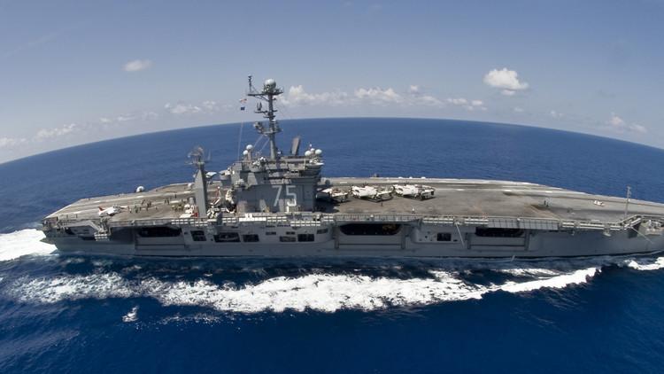 واشنطن توجه أول ضربة لهدف في الشرق الأوسط من حاملة طائرات منذ 2003