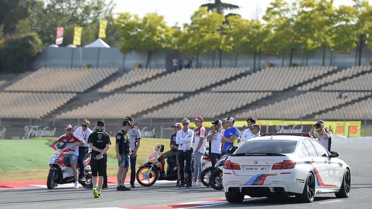 بالفيديو .. لحظة مصرع سائق دراجة نارية في تجارب جائزة برشلونة