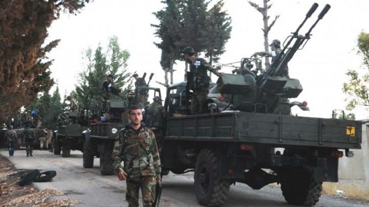 الجيش السوري يدخل الحدود الإدارية للرقة