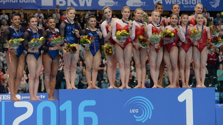 سيدات روسيا يفزن بذهبية أوروبا للجمباز