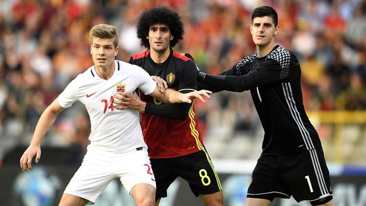 بلجيكا تفوز على النرويج قبل