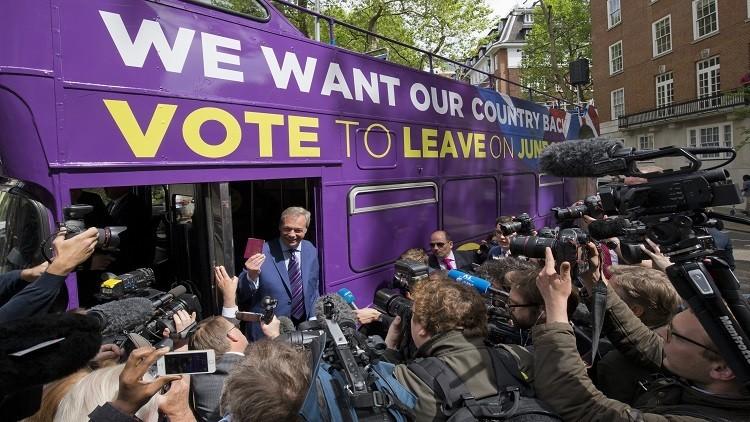 استطلاع: تقدم أنصار انسحاب بريطانيا من الاتحاد الأوروبي