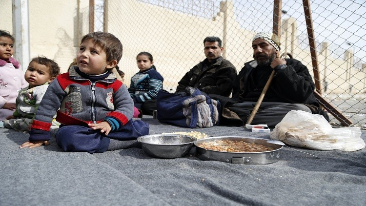 حملة خيرية شيشانية لمساعدة النازحين في دمشق