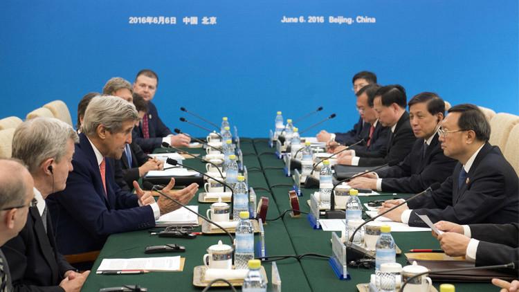 الولايات المتحدة تعد بمعاقبة الصين لاستيلائها على جزيرة فلبينية