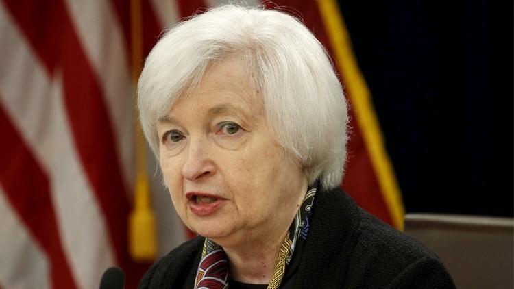 رئيسة الاحتياطي الفدرالي الأمريكي تتوقع رفع الفائدة