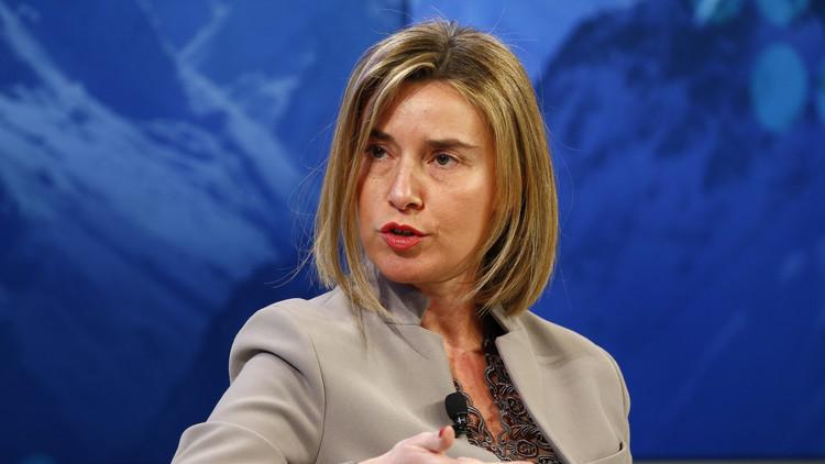 موغيريني تطلب الأمم المتحدة السماح بعملية بحرية أوروبية قبالة ليبيا