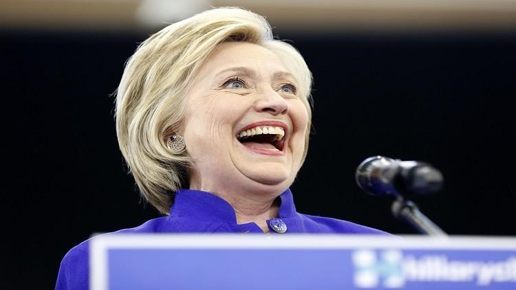 كلينتون تضمن ترشيحها لانتخابات الرئاسة