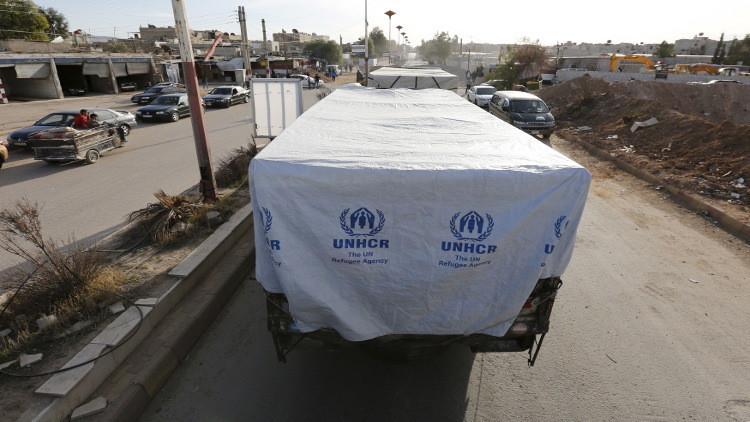 الأمم المتحدة تضغط لإدخال مساعدات إلى داريا