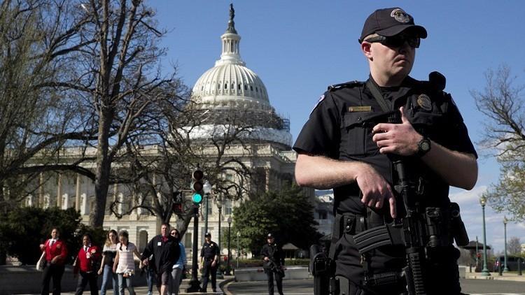 إصابة 4 أشخاص بإطلاق نار قرب الكونغرس في واشنطن