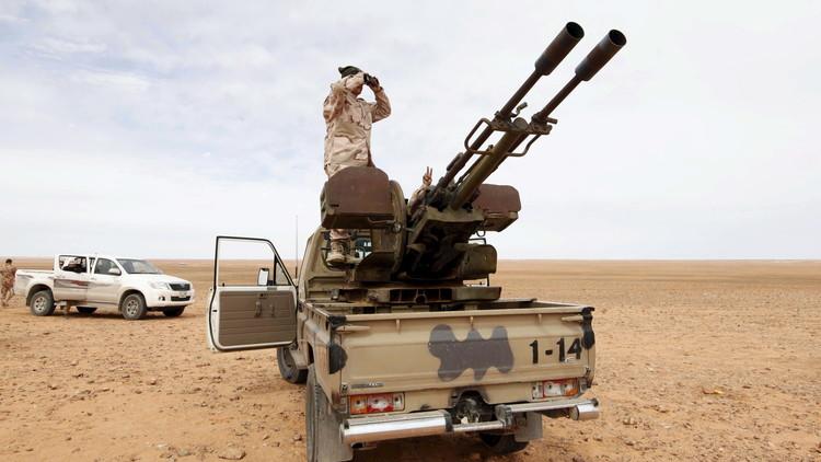 مقتل 19 من القوات الليبية في معارك سرت